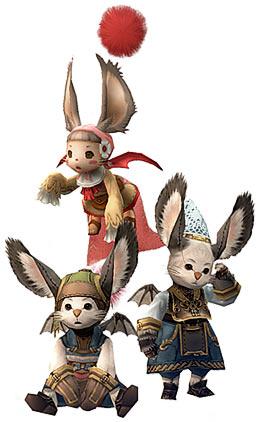 Муглы из Final Fantasy XII.