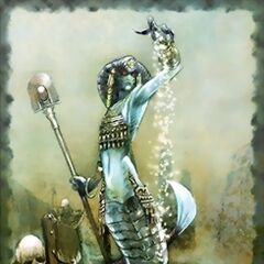 Lamia artwork.