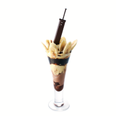 Buster Sword Sundae sold in an official Square Enix cafe.