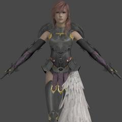Lightning's in-game model.