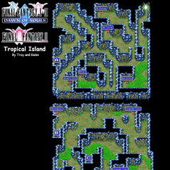 Tropical Island's Map (PSP).