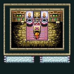 Cornelia's White Magic shop (GBA).