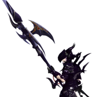 Dragoon render for the original <i>Final Fantasy XIV</i>.