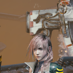 Lightning during the <i>Final Fantasy XIII</i> collaboration event.