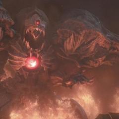 Diamond Weapon in <i>Kingsglaive: Final Fantasy XV</i>.