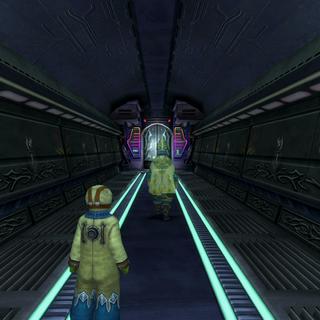 Maechen fading in <i>Final Fantasy X-2</i>.