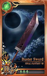 FF7 Buster Sword R+ Artniks