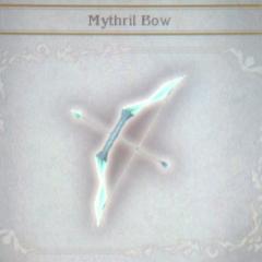 Mythril Bow in <i>Bravely Default</i>.