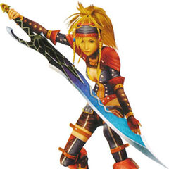 Rikku as a Warrior.