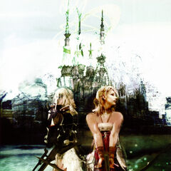 Early concept art of Lightning and Serah.