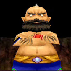 Djinn as he appears in the DS remake.