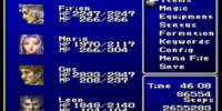 Menu (Final Fantasy II)