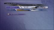 FFX Overdrive menu