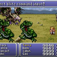 Failed Blitz Input (GBA).