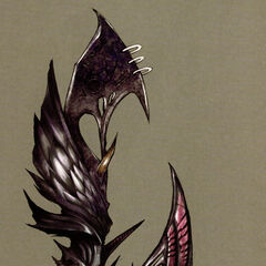 Caius's Bahamut eidolith (embedded in his weapon) is the shape of an eye.