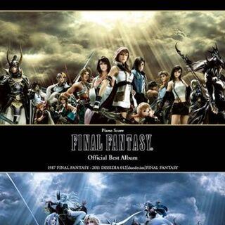 <i>Final Fantasy Official Best Piano Solo Score</i>.