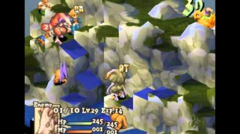 Final Fantasy Tactics - Chocobo Riding Glitch Riding a Chocobo with a Ghost