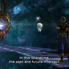 Entering a Temporal Rift the first time.