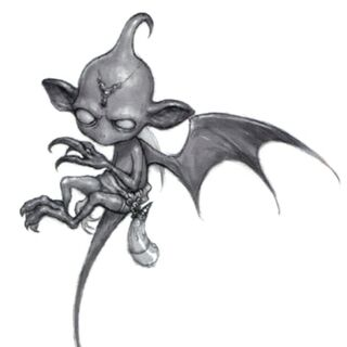 Artwork of an Imp