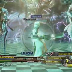 Eden's servants appear during Heartless Angel attack in <i>Lightning Returns</i>.