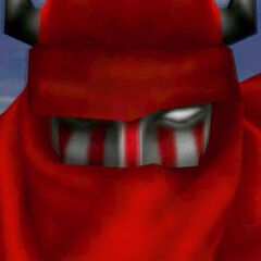 Gilgamesh up-close in <i>Final Fantasy VIII</i>.