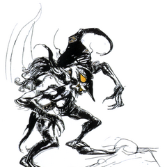 Artwork from <i>Final Fantasy II</i>.