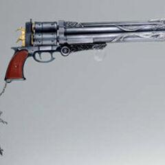 Cerberus <i>Final Fantasy</i> Master Arms gun.
