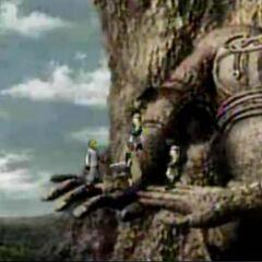 Mountain in <i>Before Crisis -Final Fantasy VII-</i>.