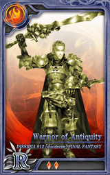 D012 Warrior of Antiquity R F Artniks