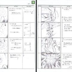 <i>Final Fantasy VII</i> storyboard.