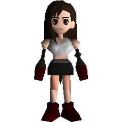 Field model from <i>Final Fantasy VII</i>.