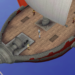 A Red Wings airship (3D).
