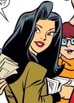 Cheung Man-Yuk from DC Comics' Scooby-Doo The Dragon's Eye saga hair & forehead coloring fixed by Niv Lugassi