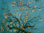 360 Branches of an Almond Tree in Blossom Oil Painting Reproduction by Vincent Van Gogh