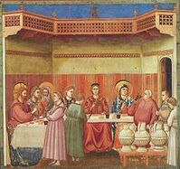 220px-Giotto - Scrovegni - -24- - Marriage at Cana