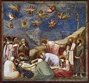 220px-Giotto - Scrovegni - -36- - Lamentation (The Mourning of Christ)