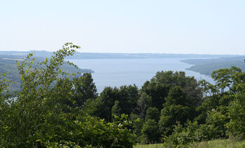 Skaneateles Lake, New York panoramic