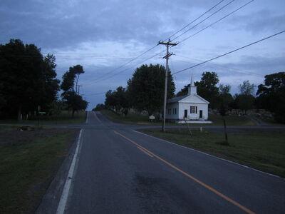 The Little Church; Gorham-Hall Road