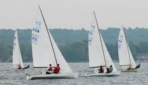 Flying Dutchman NY 2008 regatta Canandaigua Lake
