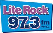 Lite Rock 97.3 FM WYXL logo