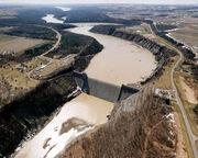 Mount Morris Dam Flood of 72