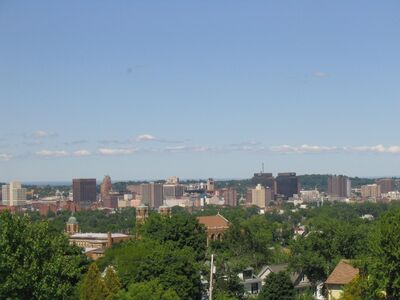 Syracuse New York Skyline