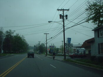 Intersection of Route 14a and State Route 364 in Penn Yan