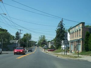 Route 5 & 20 in Seneca Falls