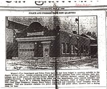 Mimico Fire Hall - Advertiser - October 2, 1929