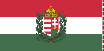 Hungary War Flag 1939-1945