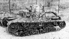 Carro Armato Medio M11-39 Prototype Late