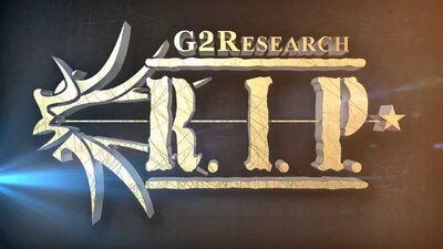 G2R RIP