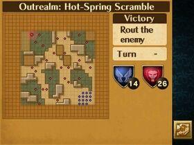 Hot-Spring Scramble Map