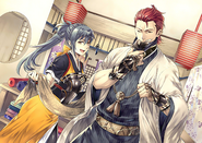 Oboro Saizo Support Art